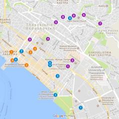 Three days in Thessaloniki