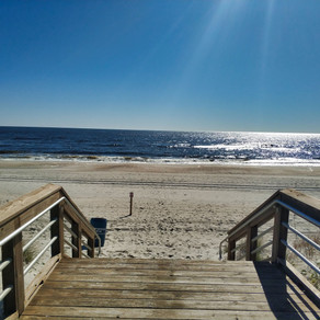 The beach of Carolina Beach
