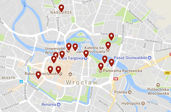 Blagoevgrad Sites Map