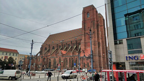 St. Mary Magdalene Church in Wroclaw and the Witches' Bridge