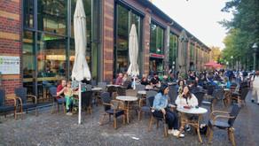 Bergmanstrasse Street and Marheineke Markthalle