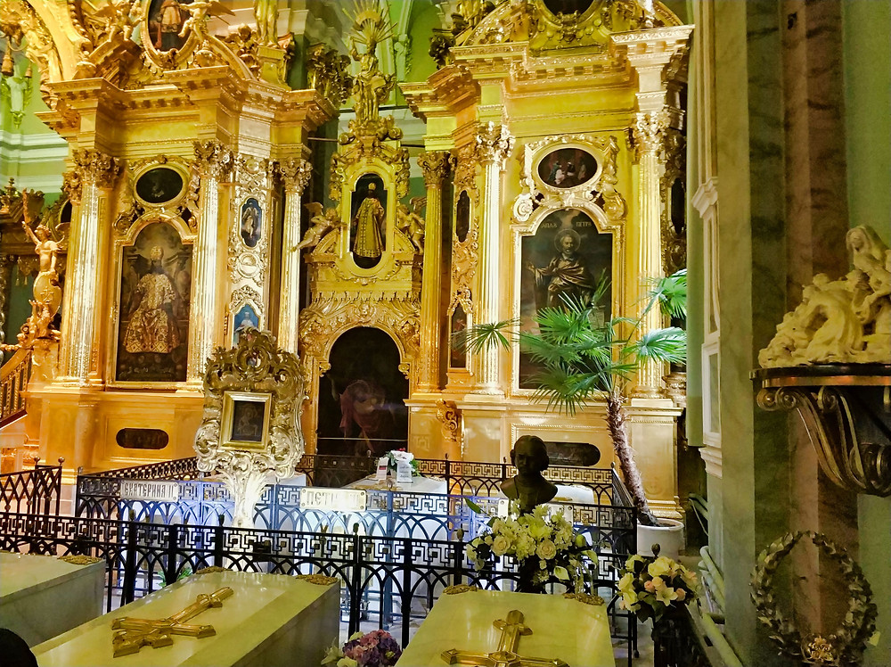 Romanov Dynasty Graves in Peter and Paul Cathedral
