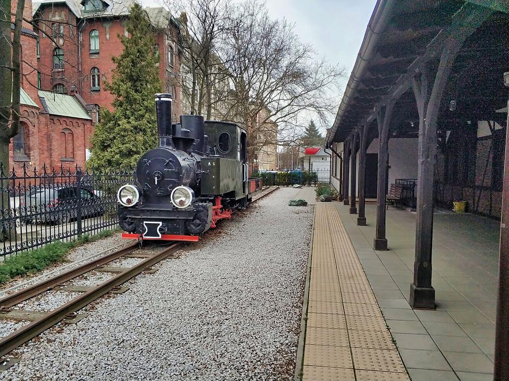 Narrow-Gauge Train Station Wroclaw