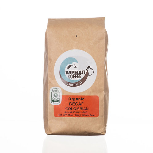 Wipeout Organic Columbian Decaf