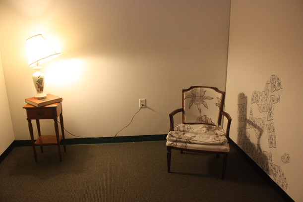 Reading Chair, 2017 Installation