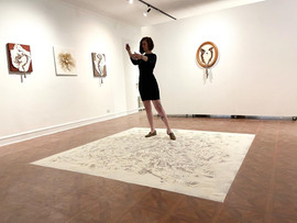 Millicent Preforming in Parlour and Ramp Gallery