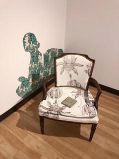 Reading Chair, 2018 Installation