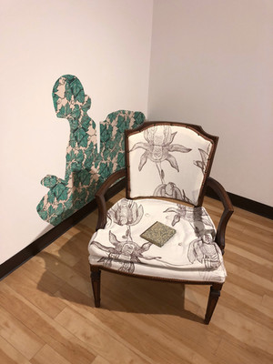 Reading Chair, 2018 Installation