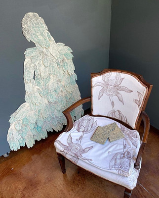 Reading Chair, 2020 Installation
