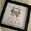 Thumbnail: Family tied together with love, personalised family frame