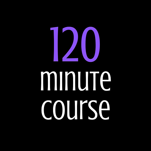 120 minute tanning course