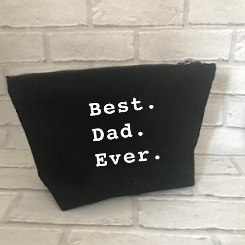 Best. Dad. Ever. wash bag
