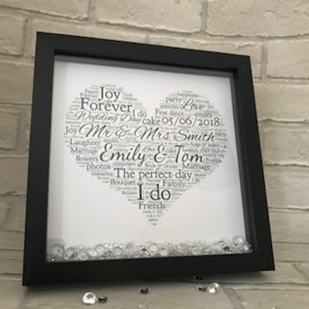 Create your own personalised Wedding gift