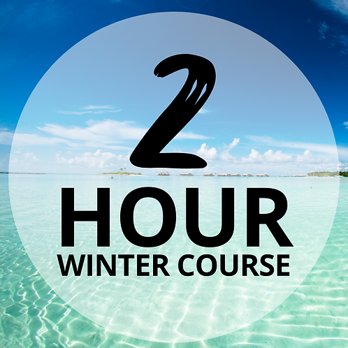 Two Hours Winter Tanning Course