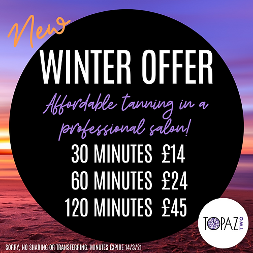 Winter Courses - only available in the salon