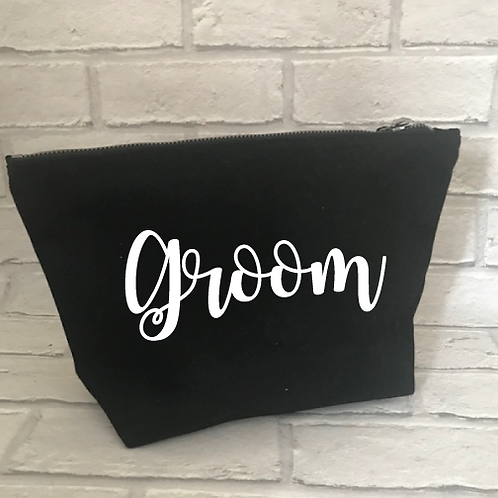 Groom/Usher/Best Man wash bag