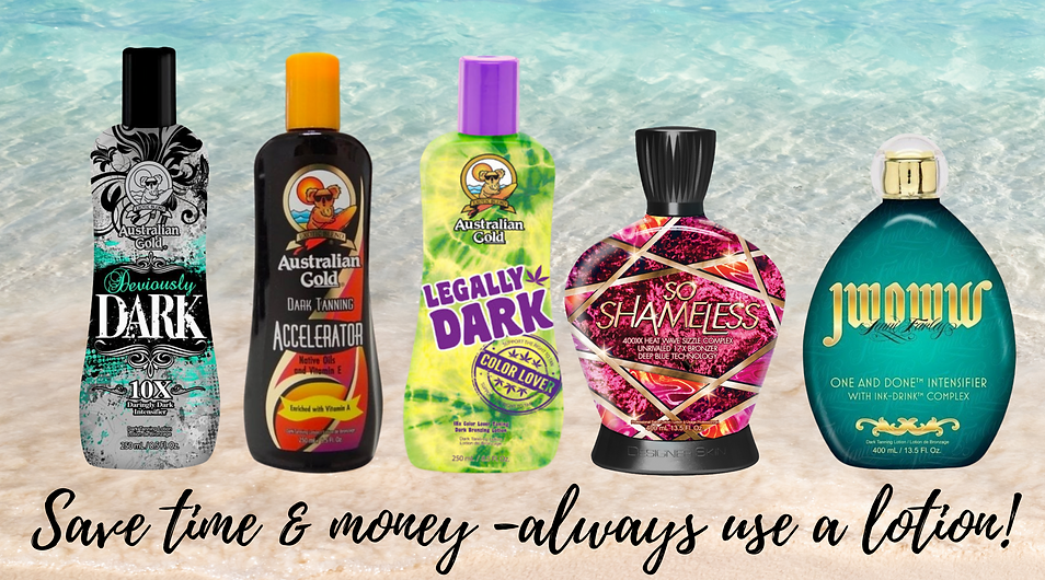 Australian Gold tanning lotions for Sunbeds at Topaz.png