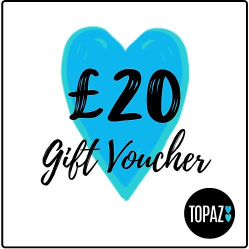 £20 Topaz Gift Voucher