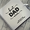 Thumbnail: Personalised Fathers Day Scrapbook Best Dad Ever... design