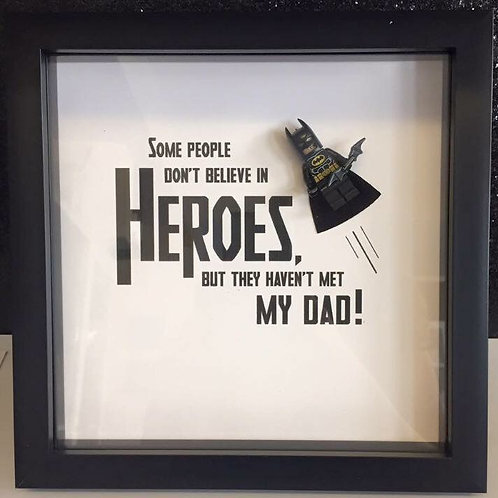 Superhero Dad frame