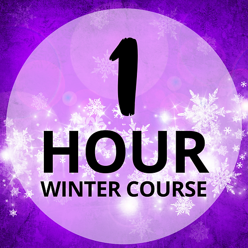 One Hour Winter Course
