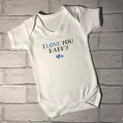 I love you Daddy - blue