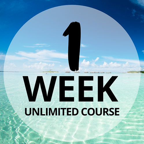 One Week  (8 day) Tanning Course