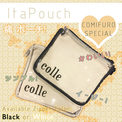 SIMPLE ITAPOUCH (White Zipper / Black Zipper)