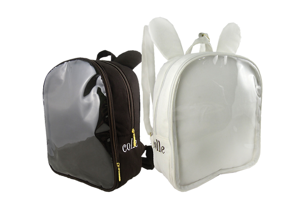 ANIMAL BACKPACK ITABAG (White Bunny/Brown Bear)