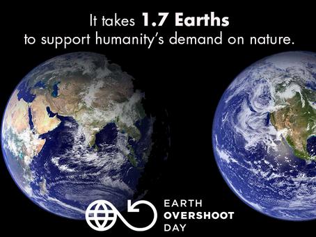Earth Overshoot Day 2019: sempre prima, sempre meno risorse per il futuro.