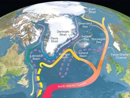 Le correnti atlantiche a rischio: troppa acqua dolce negli oceani sconvolgerà il clima.