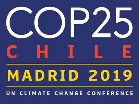 COP25 Madrid: Italia protagonista con importanti eventi su clima, energia, sostenibilità.