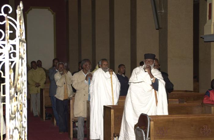 エチオピアの教会