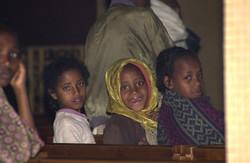 教会の子供達