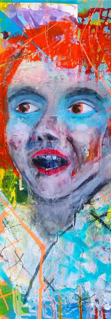 Clown by Sadie Phew