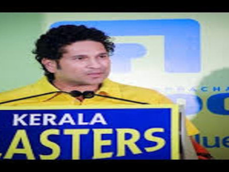 Sachin Bowled by the Beauty of Kerala ?