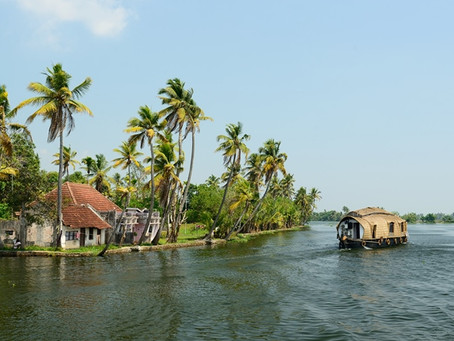 Trip to back water Capital of Kerala- Aleppey