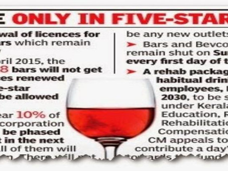 Impact of Kerala's new Alcohol Policy on Tourism