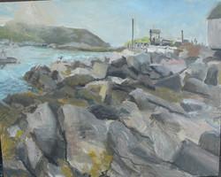 Harbor Rocks, Monhegan