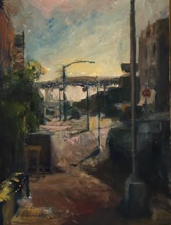 Hoyt Street Early Evening