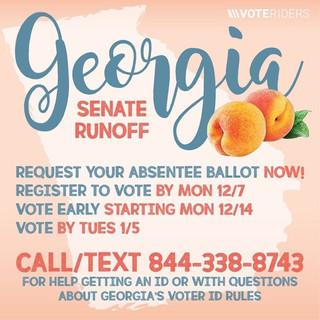 Georgia Senate Runoff Key Dates