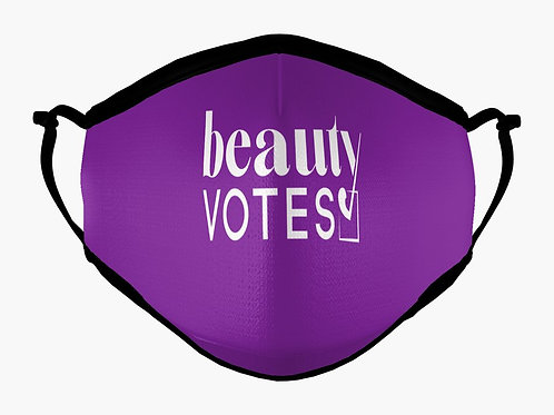 Beauty Votes 2020 Reusable Face Mask