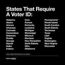 Voter ID Required - Downloadable