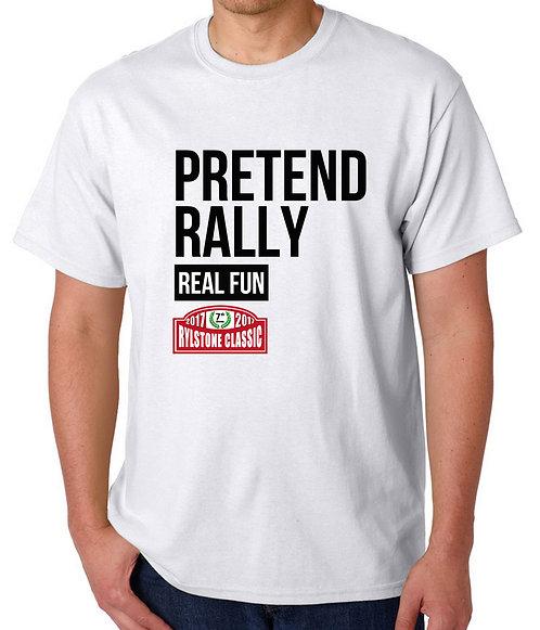 Pretend Rally WHITE T Shirt