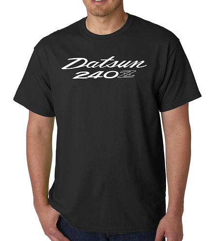 Datsun 240Z  Black T Shirt