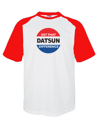 'Get That DATSUN Difference' T Shirt