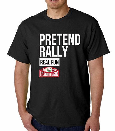 Pretend Rally BLACK T Shirt