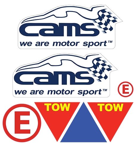 Basic CAMS Sticker Pack