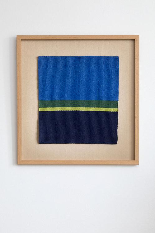 【限定出品】北欧フィンランドのラーヌ織りタペストリー『SAARISTO -群島-』