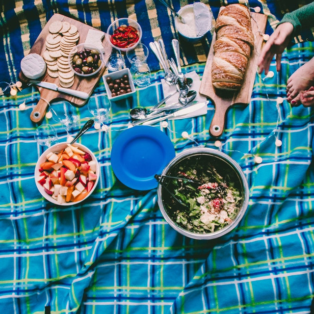 picnic with our cool bags, folds flat. Shop cool bag UK